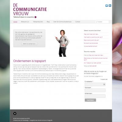De Communicatievrouw