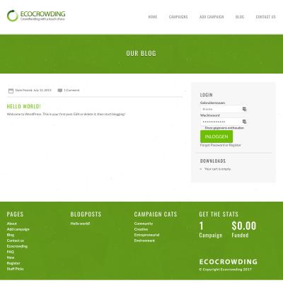 Ecocrowding.com
